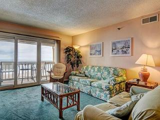2BR Oceanfront Topsail Dunes Condo in North Topsail Beach with Private Balcony &