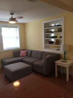 Family room with 4 piece sectional
