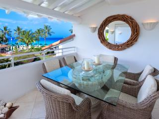 Beachfront apartment in St James Barbados