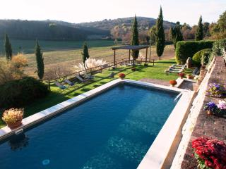 Exclusive Tuscan Villa with pool,hot tub,A/C,5 bd, free wi-fi,15 km from Siena