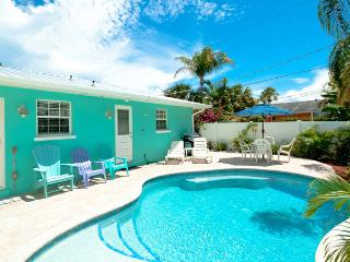 Escape to Serenity A: 2BR Pet-Friendly Pool Home, Holmes Beach