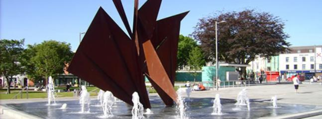 Fountain of the 'Galway Hooker', Eyre Square