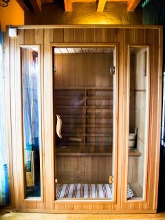 Sauna en el salón