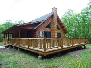 STUNNING LOG HOME in POCONO MOUNTAINS - Book your winter getaway NOW!