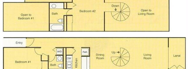Layout of the condo