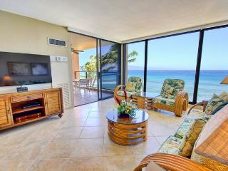 Mahana 507 Remodeled Oceantfront Amazing Views, Lahaina