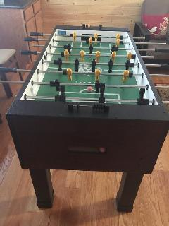Brand new Tornado foosball game table! Enjoy it!!!