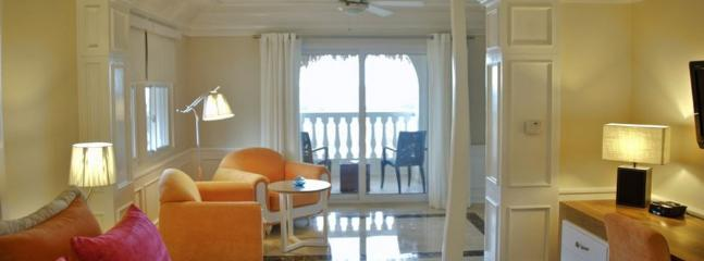 Junior suite with an ocean view