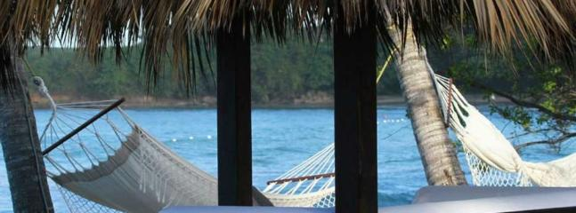 Hammocks on the beach