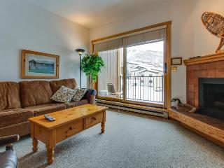 Ski-in/ski-out efficiency condo with community pool & hot tub!