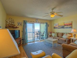 Surf Condo 113 - Majestic Ocean View, Delightful Decor, Pool, Beach Access, Onsite Laundry, Surf City