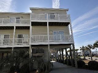 Sea Star 202 - Excellent Ocean View, Modern Style, Pool, Beach Access, Nightlife, Surf City