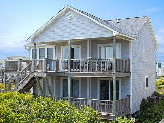 Our Time - Spectacular Oceanfront Home with Vibrant Nautical Decor, Pets Welcome