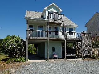 Seaside Serenity - Fantastic Fall Savings! Wonderful View, Colorful Interior, Beachy Accents, Topsail Beach