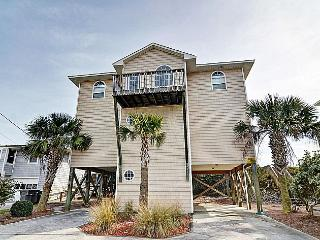 Going Coastal - Alluring Oceanfront View, Pet Friendly, Direct Beach Access, Surf City
