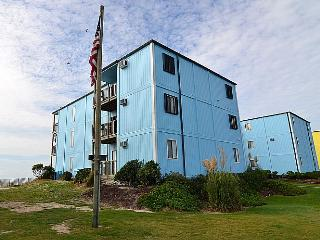 Topsail Reef 255 - Affordable Oceanfront Condo -You won't find a condo closer to the ocean!, North Topsail Beach