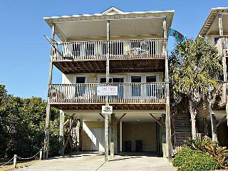 License To Chill -  Adorable Ocean View home w/ Vibrant Decor!, Surf City