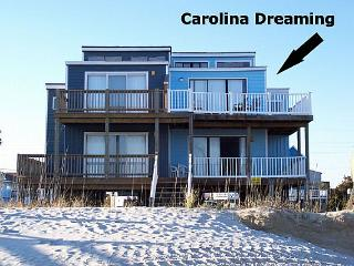 Carolina Dreaming -  Oceanfront, Unobstructed View, Quiet Area, North Topsail Beach