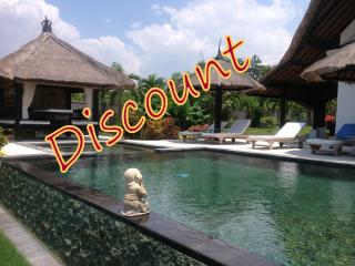 Villa Lagu, luxury beach villa with pool/ jacuzzi, Lovina Beach