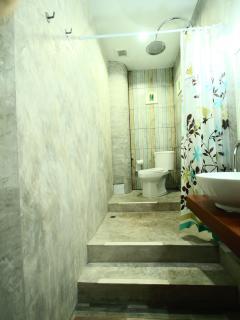 Bathroom Soft loft design