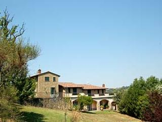 Secluded villa with private indoor and outdoor pool. Air conditioning. 20+6 sl., Collepepe