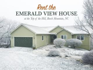Emerald View House /200Yds. FROM SLEDDING & SLOPES, Beech Mountain