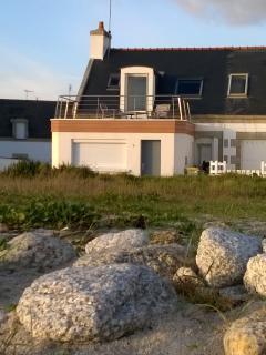 Men Gwel Kaer, pleine vue mer à Treffiagat
