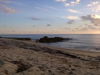 Les étocs - Men Gwel Kaer - vue sur mer, Treffiagat