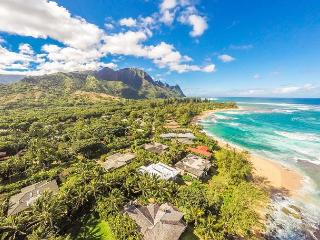 Private, Luxury Home Near Tunnels Beach!  Ideally located in Haena. TVNC#1297