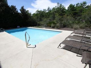 Private Heated Pool with Multiple Loungers