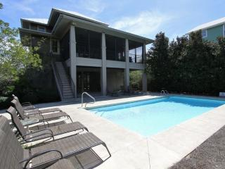 Large Area Under House Adjacent to Pool