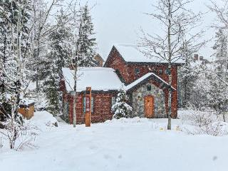Cozy cabin w/ private hot tub, ski-in/ski-out access & beautiful decor!