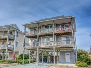 Island Drive 3767 Oceanview! | Private Pool, Hot Tub, Fireplace, Internet, Game Equipment, North Topsail Beach