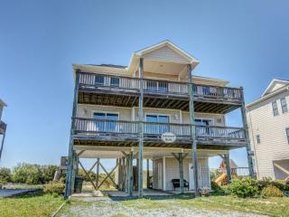 Island Drive 3801 Oceanview! | Internet, North Topsail Beach