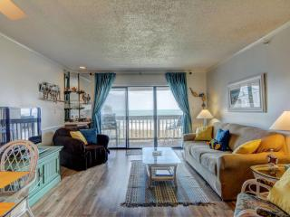 Topsail Dunes 3403 Oceanfront! | Community Pool, Tennis Courts, Grill Area, Elevator, North Topsail Beach