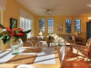 Open concept living room with walk-out to deck - wi-fi, satellite TVs and CD/iPod stereo