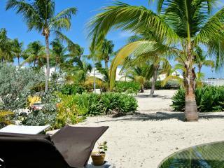 Under Coconut Trees, 1 BR condo, caribbean shore, Baie Nettle