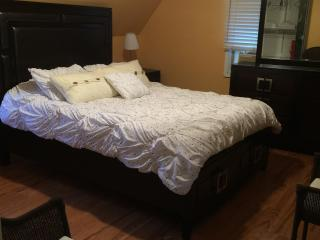 Queen size bed, furnished, 4 miles from NYC,