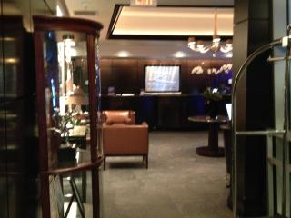 Lobby Area and Front Desk
