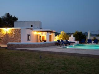 Villa Can Caus en Sant Jordi con jardín y piscina