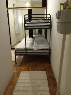 Third Bedroom - with a double bed (and a bunk)