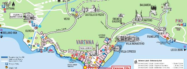 Map of Varenna