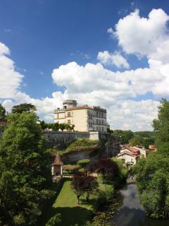 Chateau at Bourdeilles