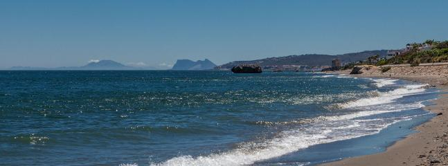 On a clear day you can see both Gibraltar and north Africa!