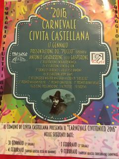 Programma Carnevale 2016: