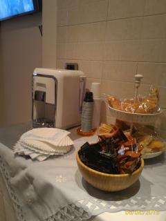 Buffet per la prima colazione.....riservato per i miei ospiti!!!!