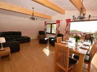 41152 Log Cabin situated in Rhayader