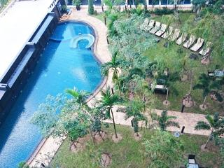 2 bedroom w/fantastic Pool View, Jomtien Beach