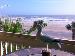 BALCONY OCEAN/BEACH VIEWS; POOLS/HOT SPA!, Galveston Island