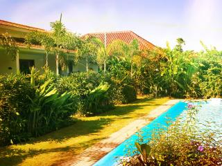 New Vintage Apartment Lagoon Pool Exotic Garden, Kerobokan